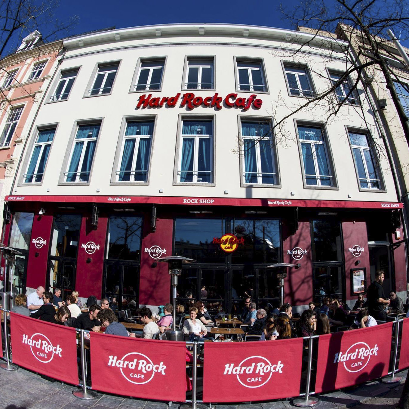 Hard Rock Cafe Antwerp - visted in 2017