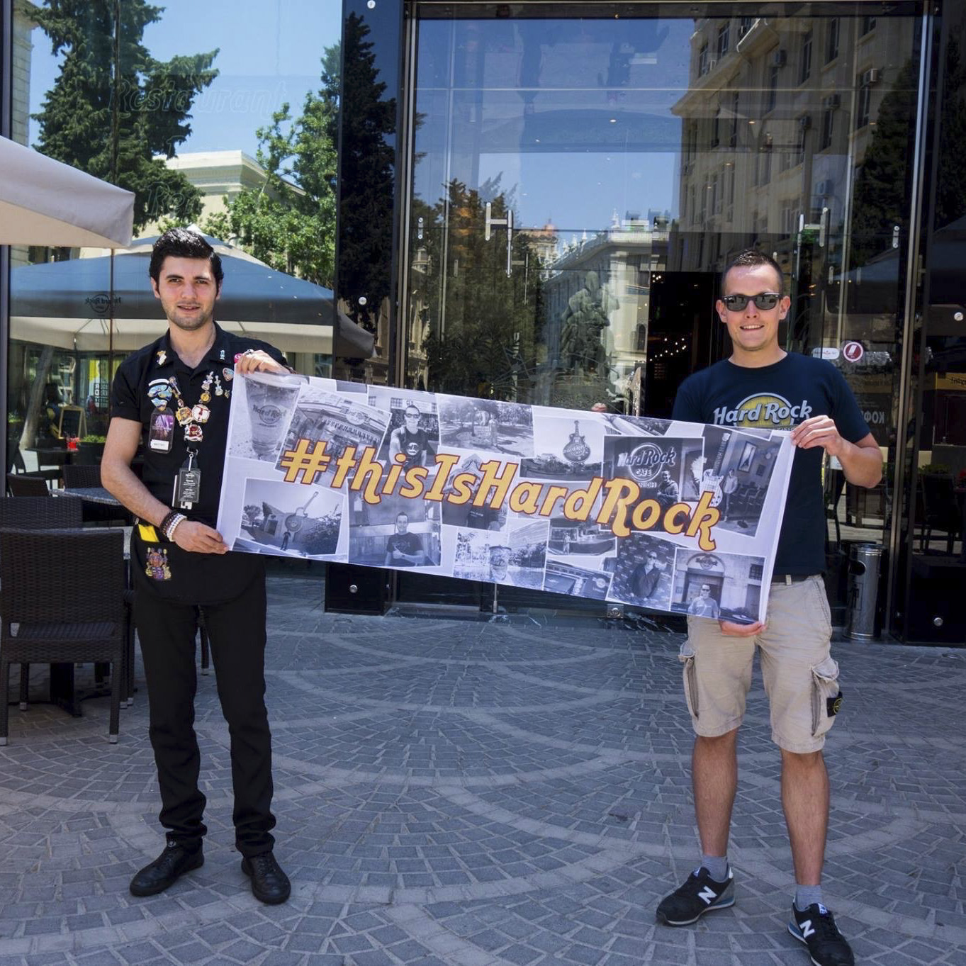 Hard Rock Cafe Baku with Matteo