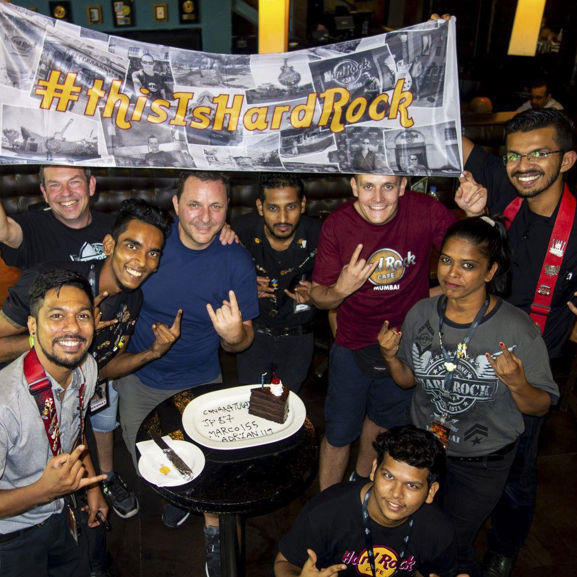 Hard Rock Cafe Mumbai Worli with crazy staff