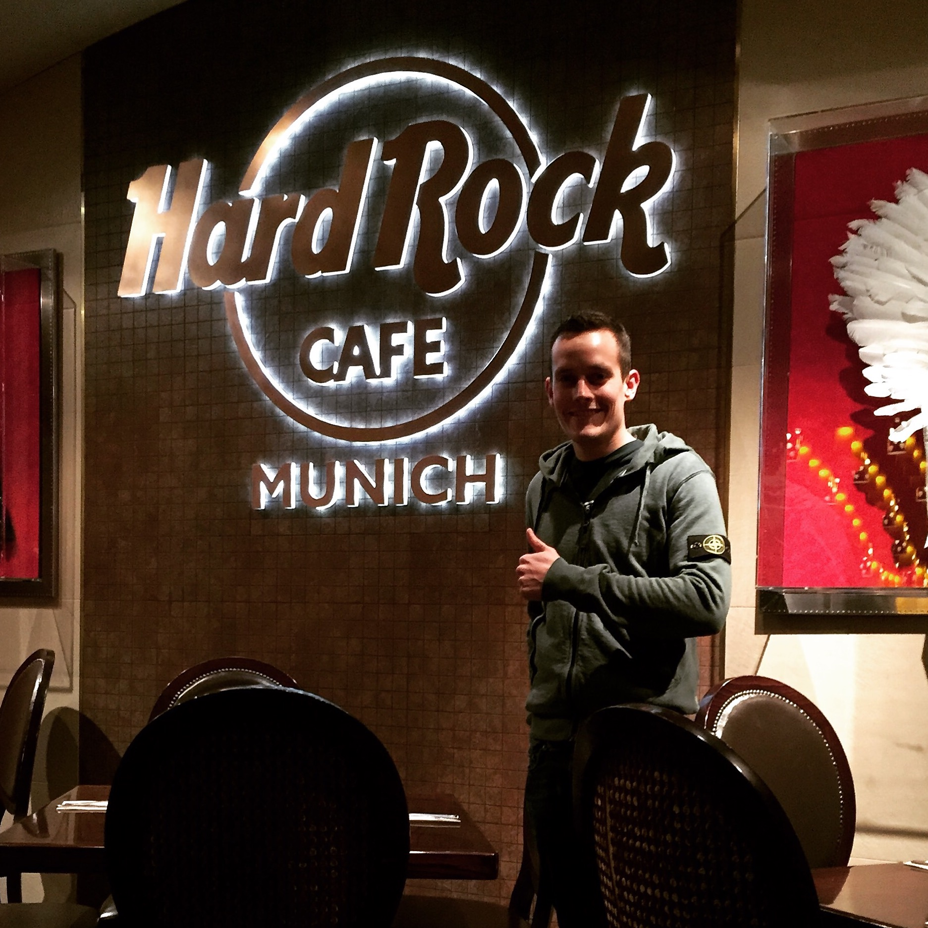 Hard Rock Cafe Munich - visited in 2015