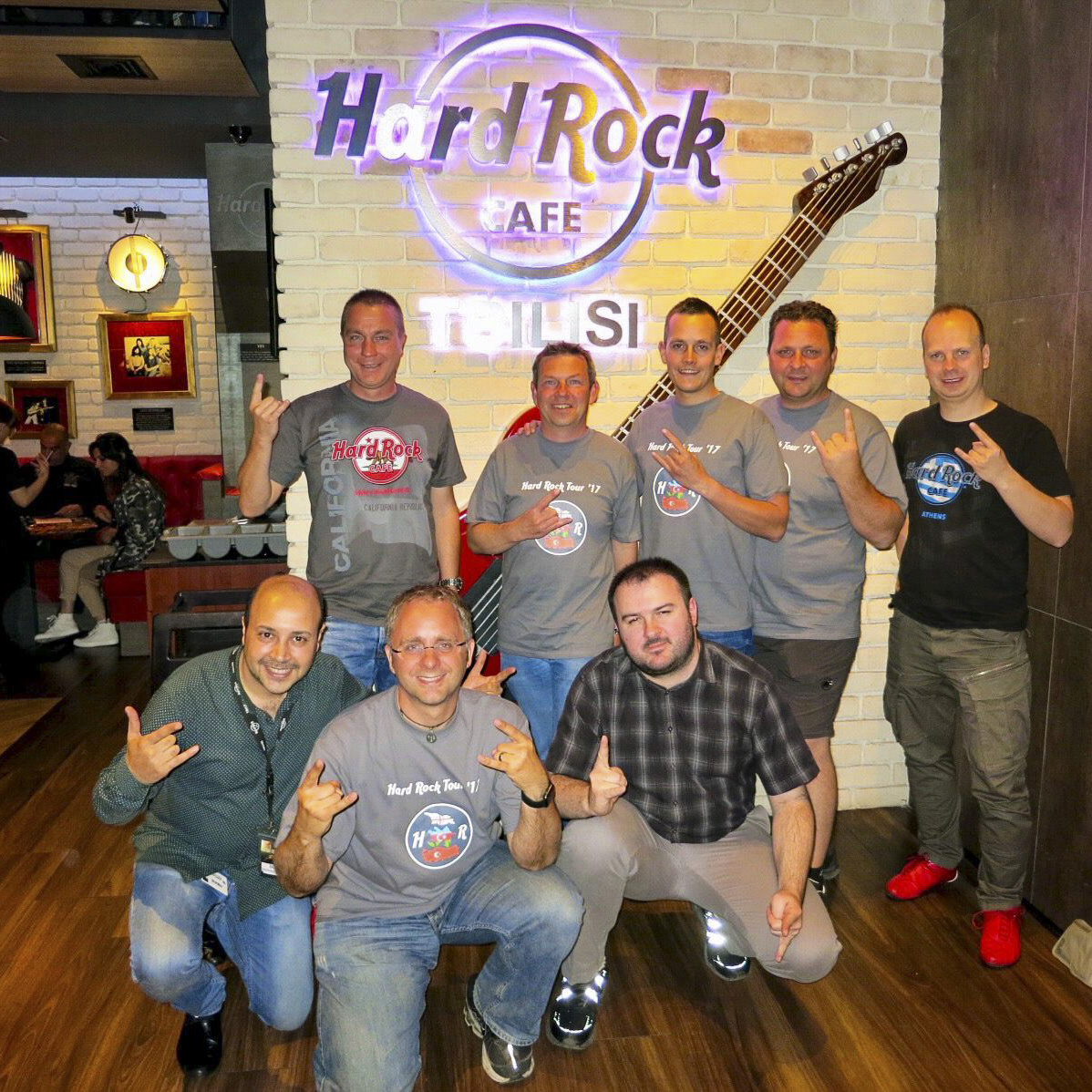 Hard Rock Cafe Tbilisi - Group picture
